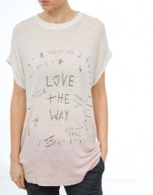 LOVE THE WAY T-shirt THE HIP TEE