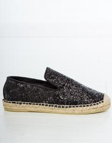 Glitter esparto sandals ASH