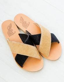 Sandalia tiras cruzadas bicolor ANCIENT GREEK