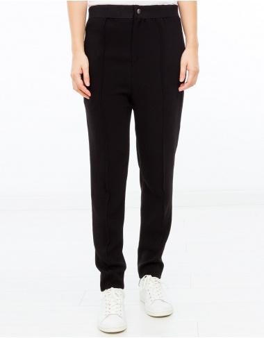 moda-50 MOCK Pantalón creppe goma ISABEL MARANT ETOILE