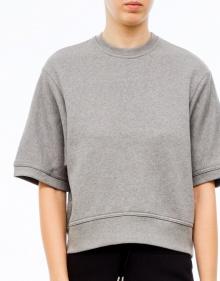 Over sweatshirt - grey T BY ALEXANDER WANG