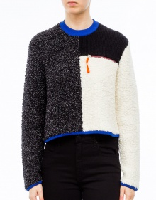Jersey tricolor T BY ALEXANDER WANG