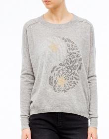 Cashmere sweater yin-yang BRAND UNIQUE