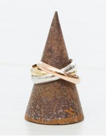 Triple ring - multi SUIVI GOLD