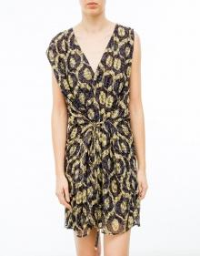 TUXY - V-neck printed dress ISABEL MARANT