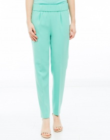 Silk pant - mint BOUTIQUE MOSCHINO