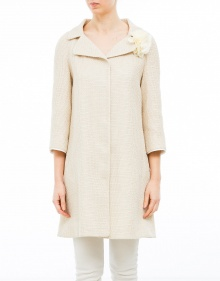 Raffia coat TWIN-SET