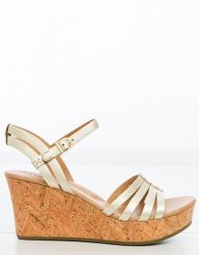Golden strips sandals UGG