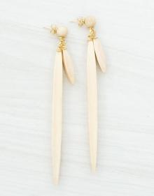 Wood earrings ISABEL MARANT
