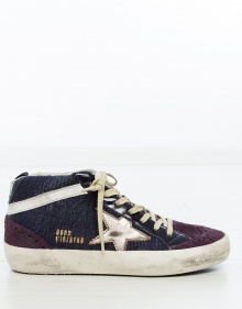 Sneaker MID STAR BLUE CANVAS GOLDEN GOOSE DELUXE BRAND