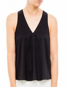 Silk top - black T BY ALEXANDER WANG
