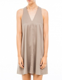 Silk dress T BY ALEXANDER WANG