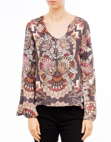 Blusa ml estampada ODD MOLLY