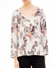 Blusa ml estampada colores ODD MOLLY