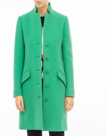 Cashmere-wool coat - green BOUTIQUE MOSCHINO