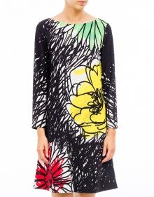 Floral printed flared dress BOUTIQUE MOSCHINO