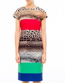 Printed strips dress BOUTIQUE MOSCHINO