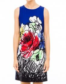 Vestido estampado flores BOUTIQUE MOSCHINO