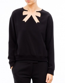 Tie tulle delusion jumper BOUTIQUE MOSCHINO