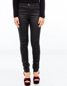 Gummed skinny jeans TWIN-SET