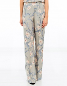 Palazzo trousers - sky blue TWIN-SET
