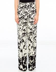 Pantalón flores bicolor TWIN-SET