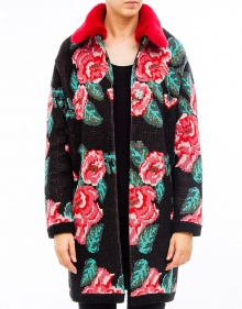 Chaqueta jacquard doble TWIN-SET