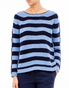 Jersey punto rayas - azul TWIN-SET