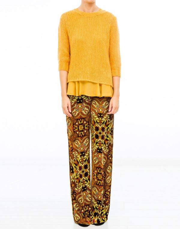 Yellow Sweater Set 47