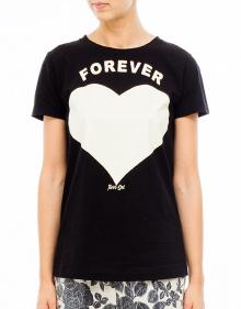 Camiseta corazón TWIN-SET