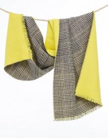 Bufanda cuadros - Amarillo TWIN-SET
