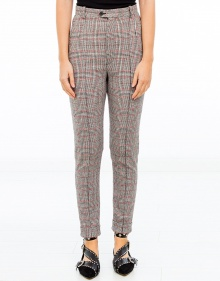 KATJA - Chequered trousers ISABEL MARANT