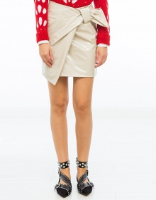 ANDERS cotton knot vinil shirt - Shalk ISABEL MARANT