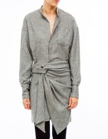 KHOL - Vestido camisero falda fruncida ISABEL MARANT