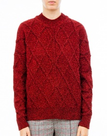 DAZZLE - Knitted lurex over sweater ISABEL MARANT