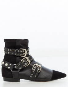 ROLLING ankle boots - Black ISABEL MARANT