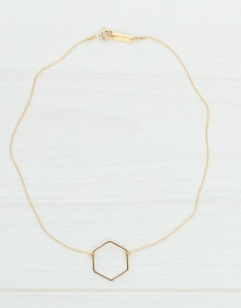 Colgante hexagonal LOVE ISABEL MARANT