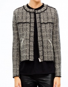 LAURA tweed jacket contrast ISABEL MARANT ETOILE