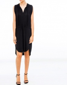 NICKY creppe tapes dress - Black ISABEL MARANT ETOILE