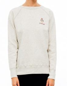 BILLI Logo sweatshirt - Chalk ISABEL MARANT ETOILE