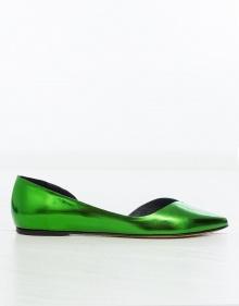 PENN Bailarina metalizada- Verde ISABEL MARANT