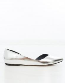 PENN Metallic ballerina - Grey ISABEL MARANT