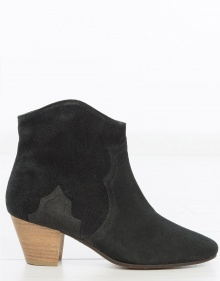 DICKER ankle boots - Black ISABEL MARANT