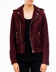 Leather washed jacket THE KOOPLES