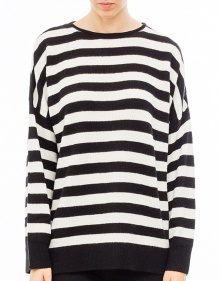 Over striped cashmere sweater THE KOOPLES