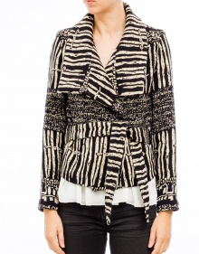 Crossed bicolor jacket IRO
