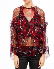 Print blouse IRO