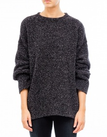 Over vigoreaux jumper - Black IRO