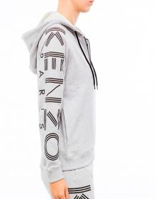 KENZO hood jacket-Grey Pearl KENZO