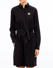 Popelin dress - Black KENZO
